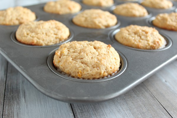 Meyer Lemon Ricotta Muffins