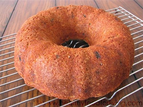 Carrot Cake Bundt Bread