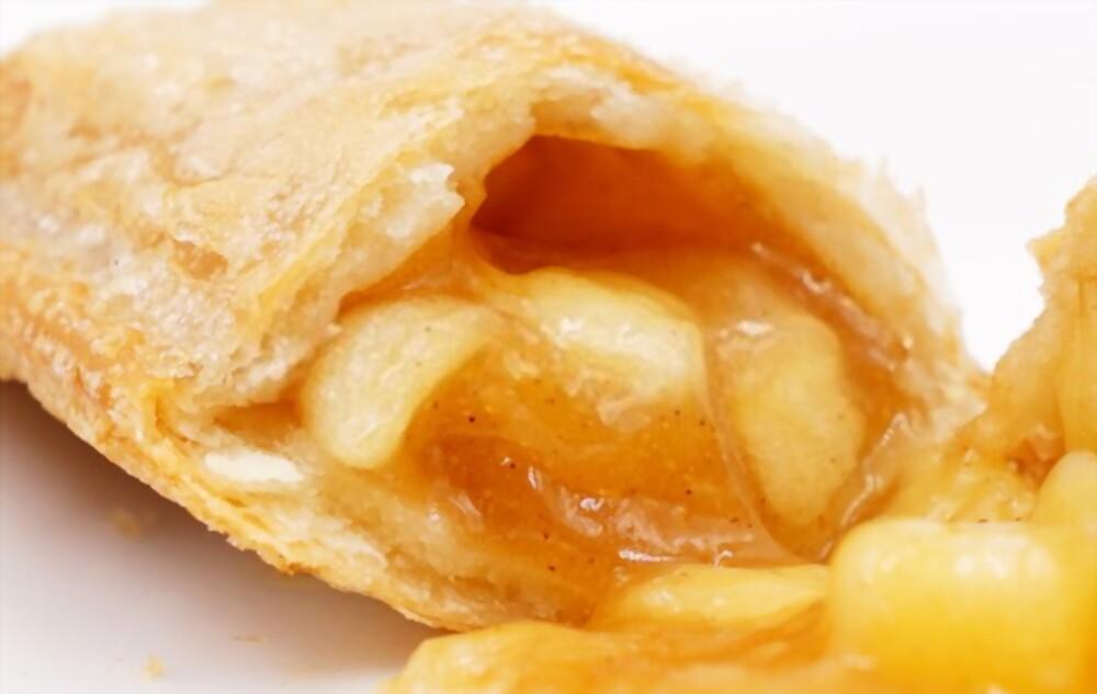 Apple Pie-Filled Crispy Cheddar Frico Cups